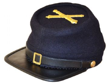 Union Artillery Blue Kepi With Badge